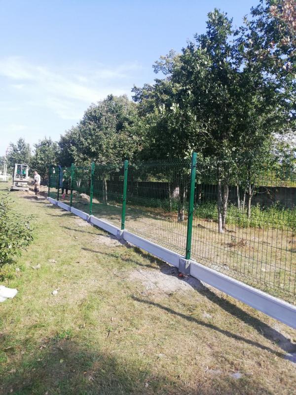 Powstaje nowe ogrodzenie na stadionie przy ul. Polnej wMalczycach