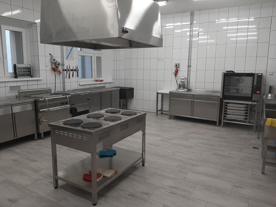 Wyremontowano kuchnię iszkolną stołówkę