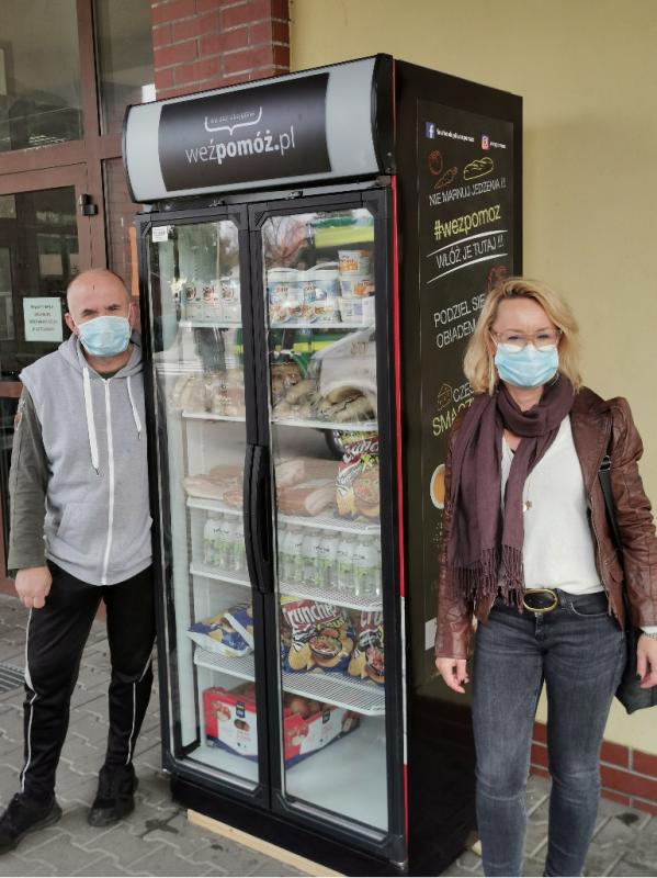 W Środzie Śląskiej ruszyła inicjatywa lodówki społecznej