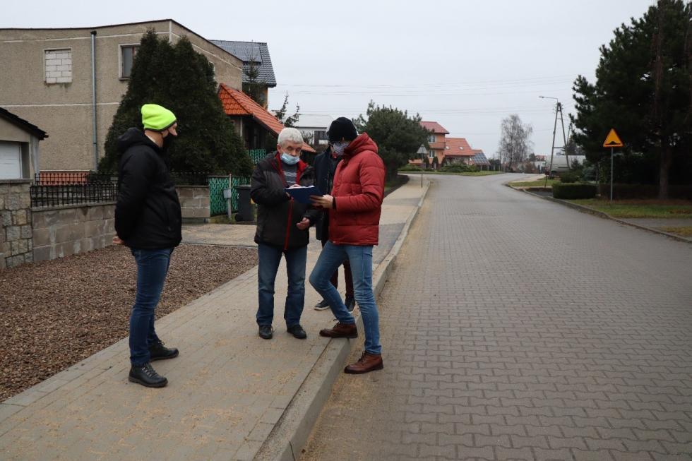 Chodniki na Baczyńskiego iSkłodowskiej-Curie gotowe