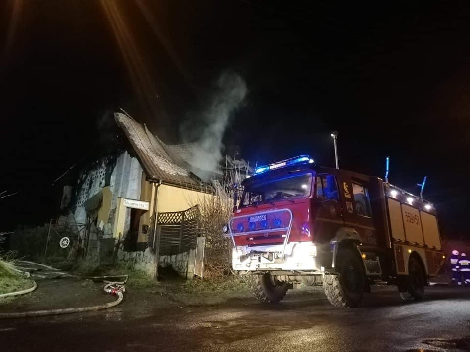 Dramat wMalczycach - spłonął dom jednorodzinny