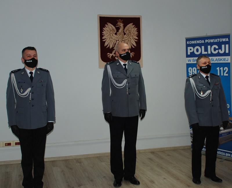 Zmiana na stanowisku IZastępcy Komendanta Powiatowego Policji wŚrodzie Śląskiej