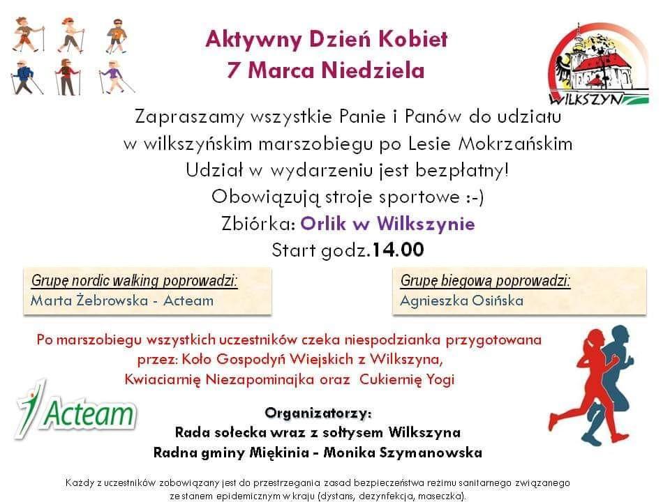 Zaproszenie na biegi doLasu Mokrzańakiego