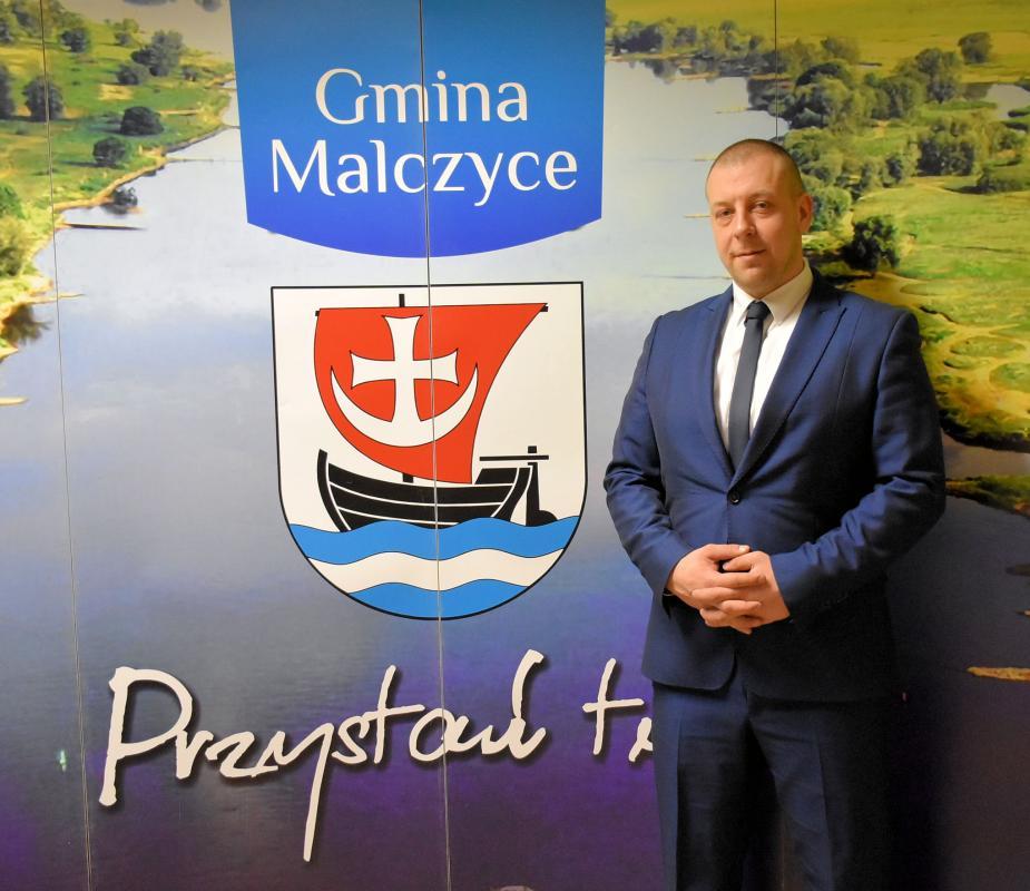 Marcin Matyja będzie pełnił funkcje wójta gminy Malczyce doczasu nowych wyborów