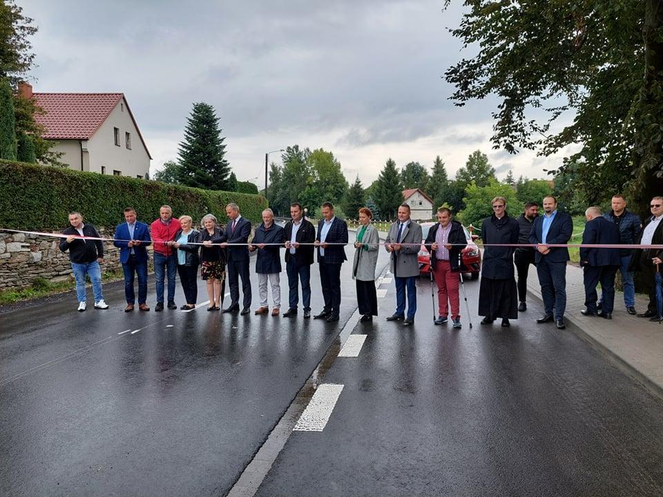 Otwarcie dróg na terenie gminy Udanin