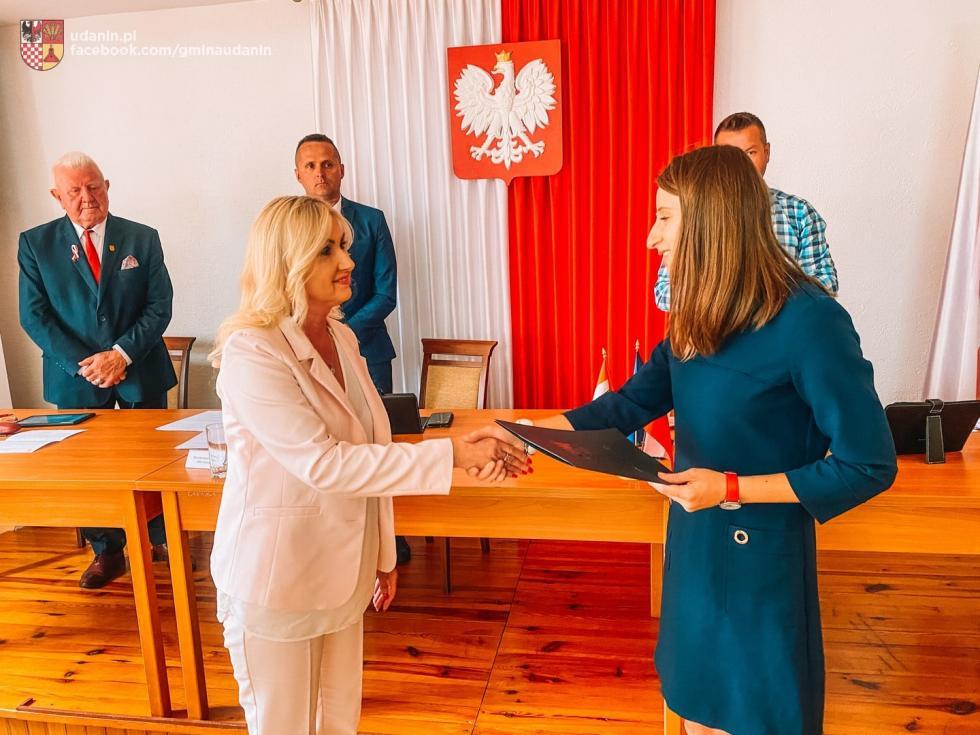Nowa radna gminy Udanin