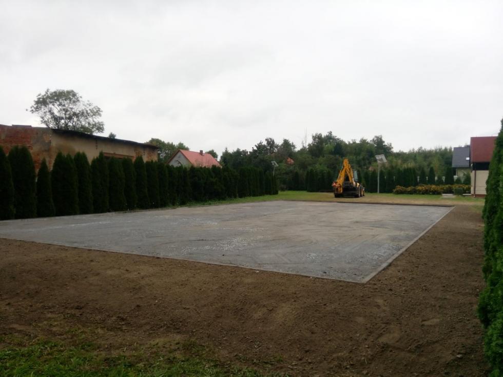 Plac rekreacyjny wMichałowie zinicjatywy mieszkańców
