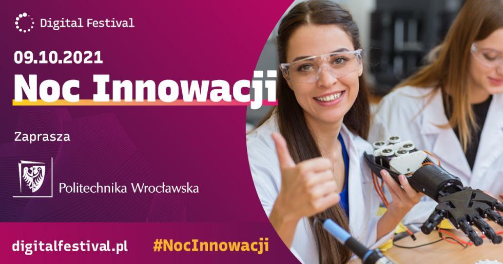 Noc Innowacji na Politechnice Wrocławskiej